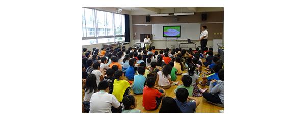 2016年栗っこネットワークの授業風景